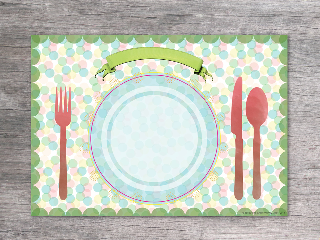Transformative image pertaining to printable placemats